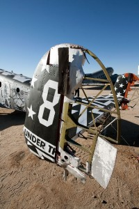 Detail of Faile's plane