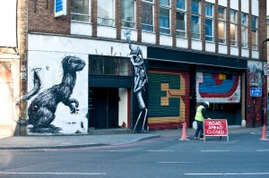 Roa and Eine @ Rivington Street