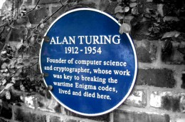 Turing's Commemorative Plate