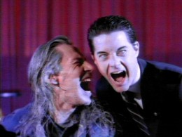 twin peaks_BOB and dale cooper