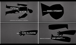 Saul Bass - Anatomy of A Murder