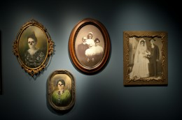 Photographs at Commemoration Section / Death @ Wellcome Collection