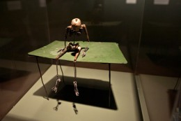 Gentleman on Green Table by June Leaf, 2000 / Death @ Wellcome Collection