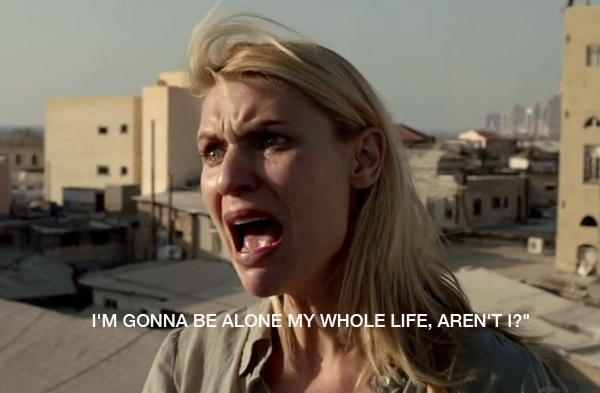 Homeland's Carrie Mathison