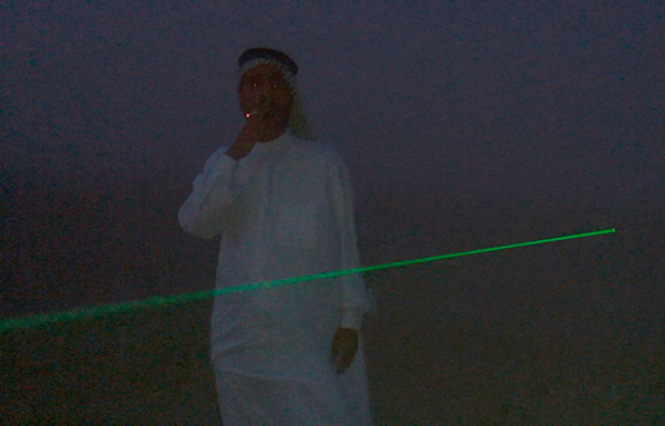 Gaillard Arabic_Man_Green_Laser_Still