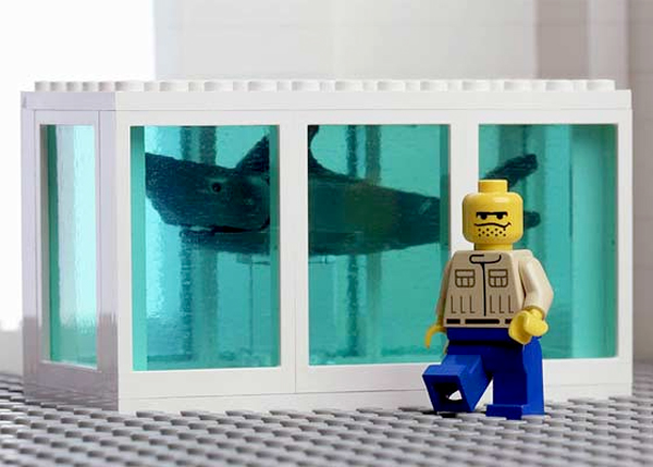 Hirst Shark Lego